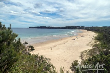 View from Narrawallee headland