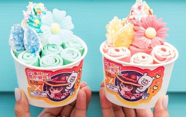 映画『このすば 紅伝説』×「ロールアイスクリームファクトリー」のコラボが決定!