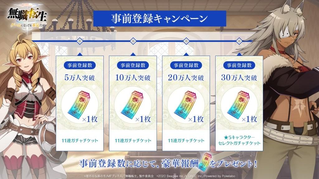 ゲームアプリ『無職転生~ゲームになっても本気だす~』