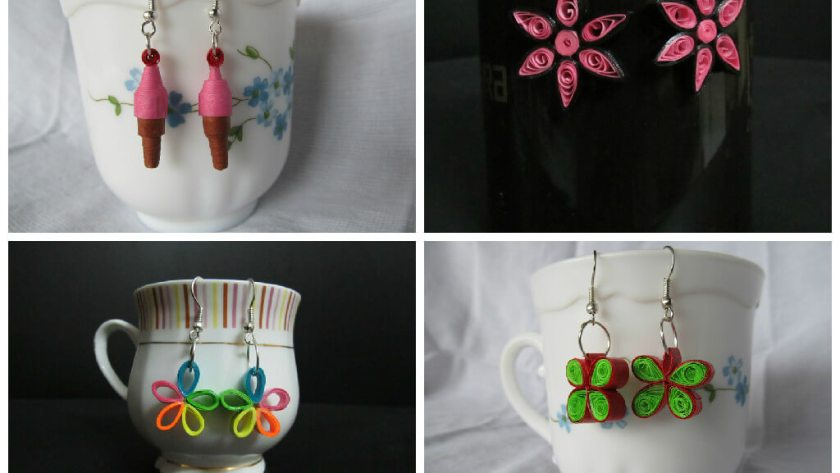 10 Paper Quilling Jewellery Ideas for you
