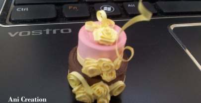 Quilled Cake – Treat to eyes, doesn't add to your Calories ;)