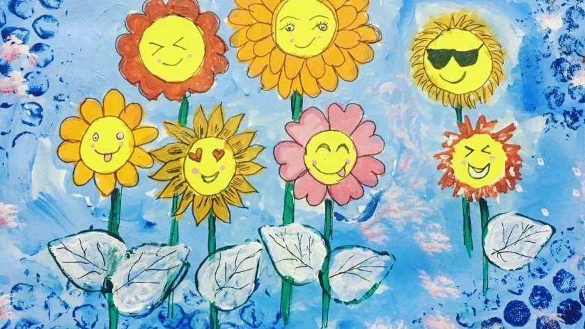 Bring on Sunshine – Mixed Media Art Journal
