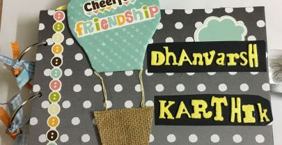 Friendship Scrapbook – Cute gift