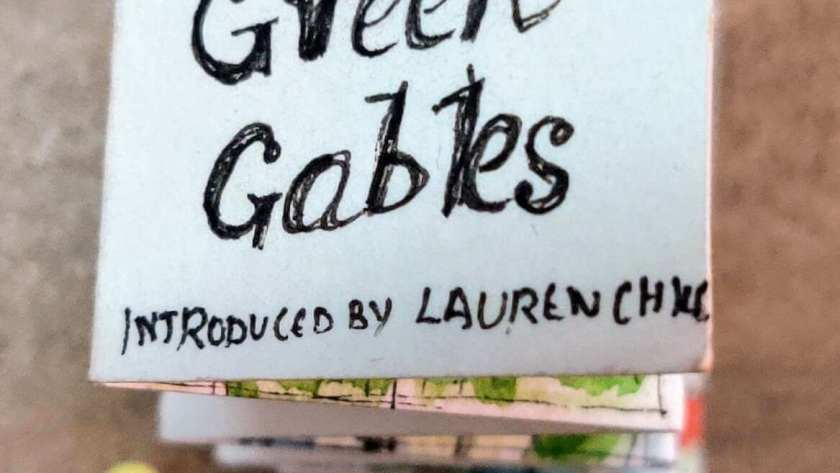 Miniature book – Anne of Green Gables miniature book