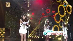 SBS [2013가요대전] - 태티서with엑소(Exo) 'Crazy In Love' - YouTube.MP4_000006184