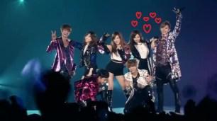 SNSD TTS & EXO - DJ got us fallin' in love @ smtown live 3 tokyo Oct 26, 2012 GIRLS' GENERATION HD - YouTube.MP4_000239920