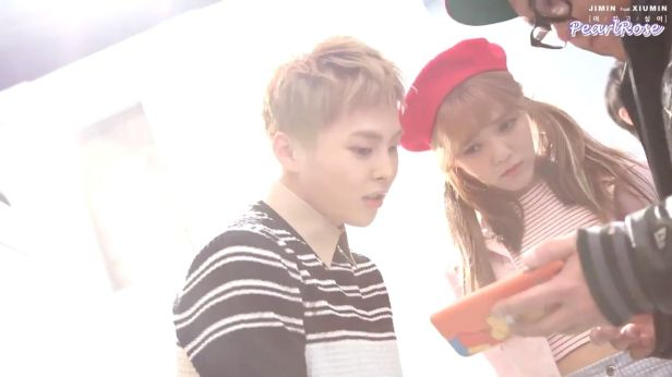 [ENGSUB] Jimin (AOA) ft. Xiumin (EXO) - Call You Bae (야 하고 싶어) MV making_00_00_08_06_26
