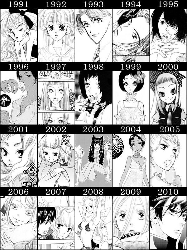 Lily-Hoshino-evolución