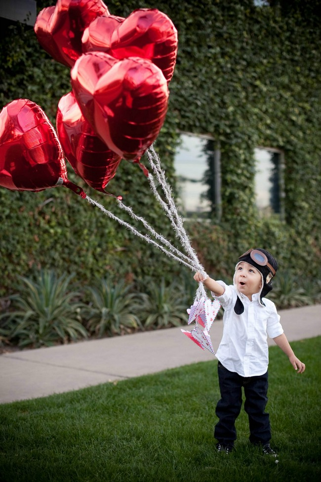 Flying Paper Airplane Valentines A Night Owl Blog