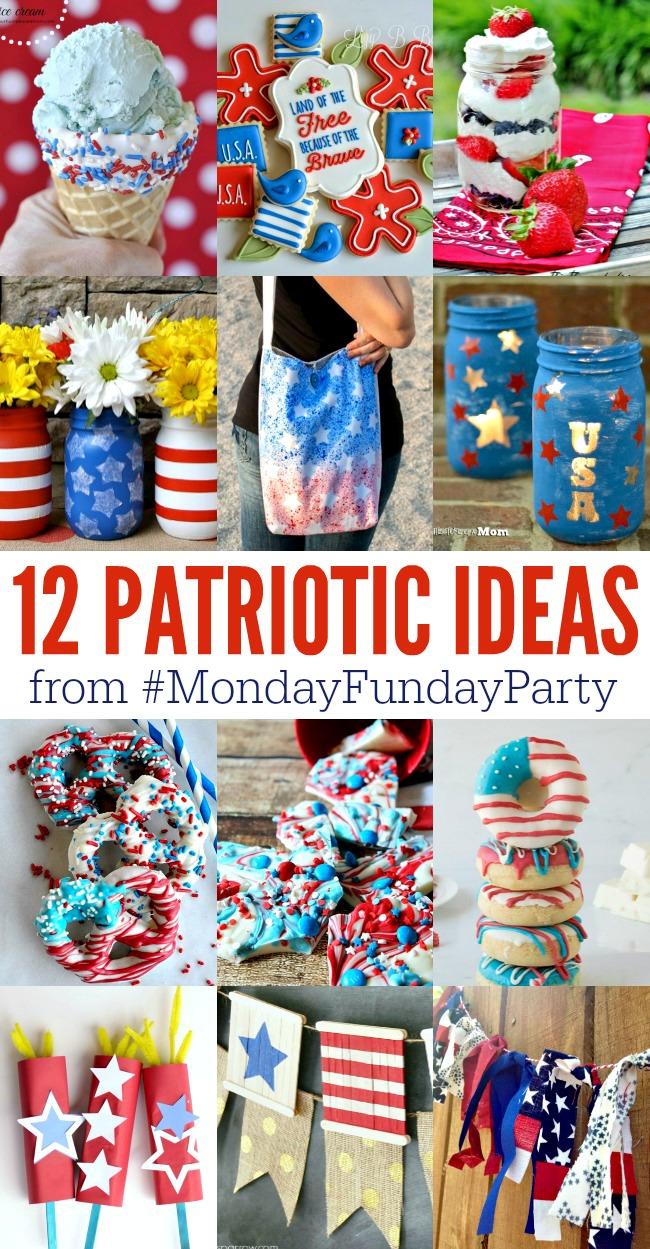 12 Patriotic Ideas - Crafts, Treats and More