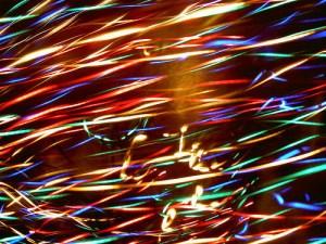 feliz nochevieja 2010 navidad luces y colores
