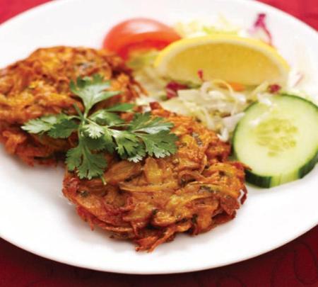 Onion Bhaji (2 pieces)