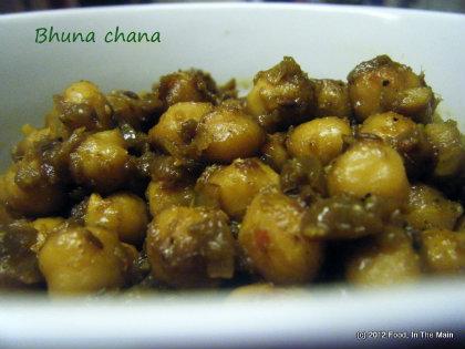 Chana Bhuna