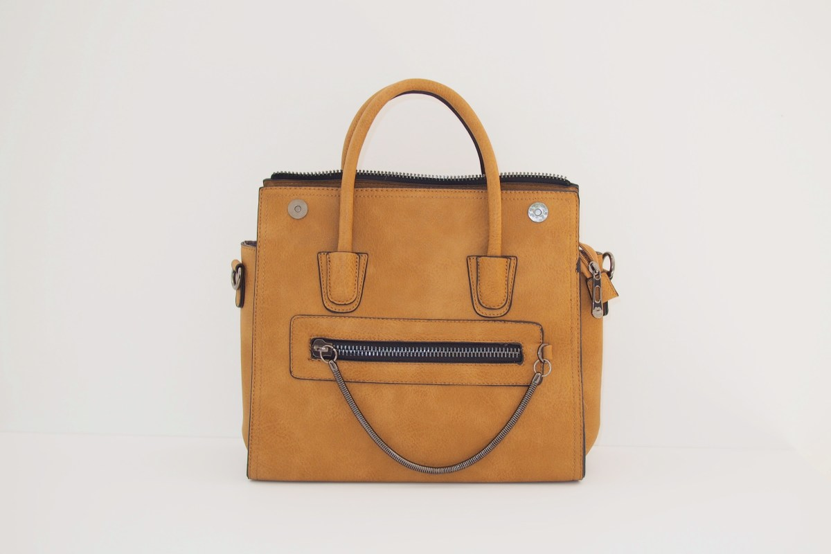 LAMODA tan bag