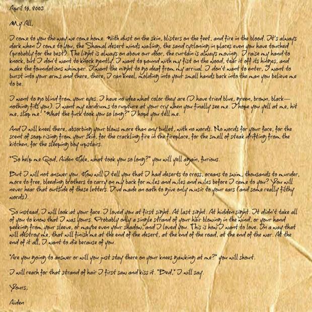 Letter #5