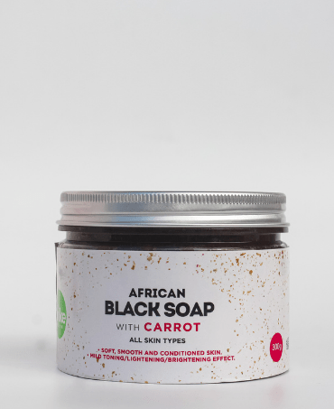 African Black Soap with Carrot