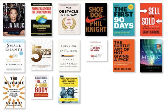 2018 Books