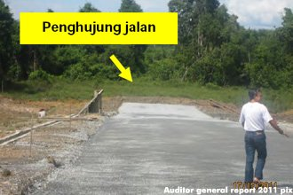 Incomplete Sarawak bridge
