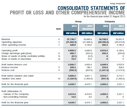 Source: TNB Energy Incorporated 2013 Annual Report