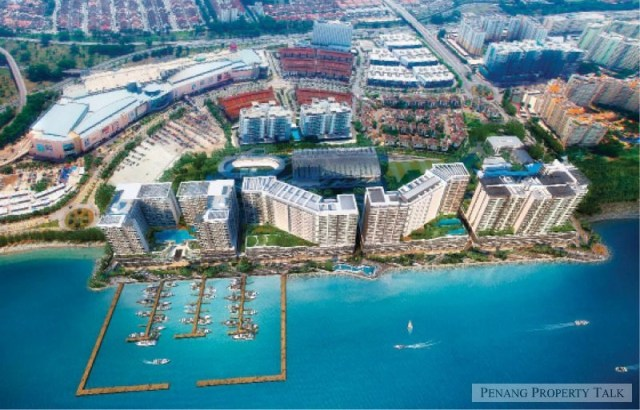 The Queens Residences at Queensbay project
