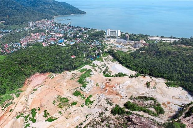 Teluk Bahang hill-top - Photograph: The Star