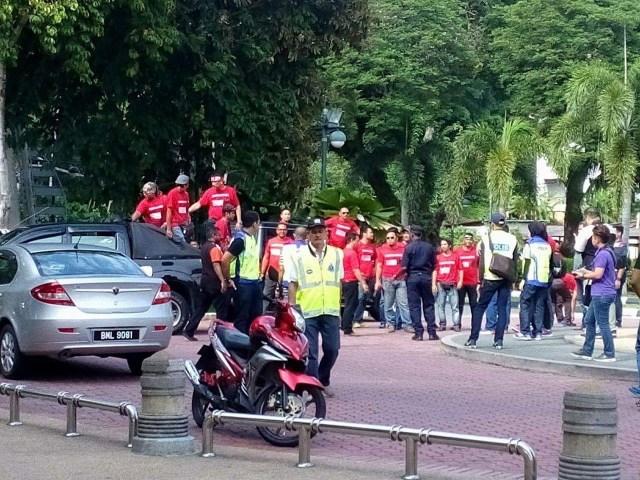 Red Shirts at Lumut