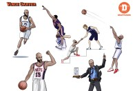 Vince Carter_Poses