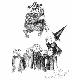 Pirraça e Percy Weasley