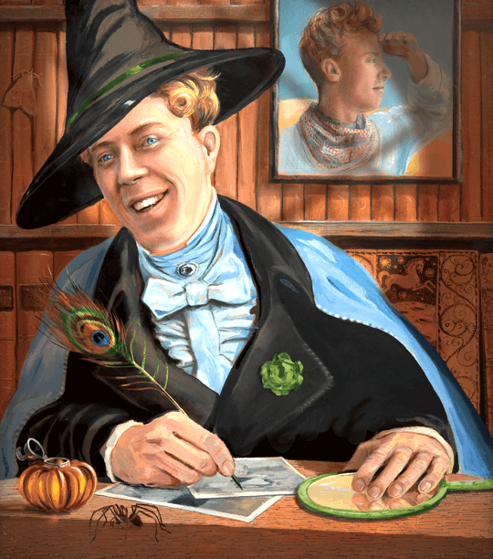 Guilderoy Lockhart, por Jim Kay.