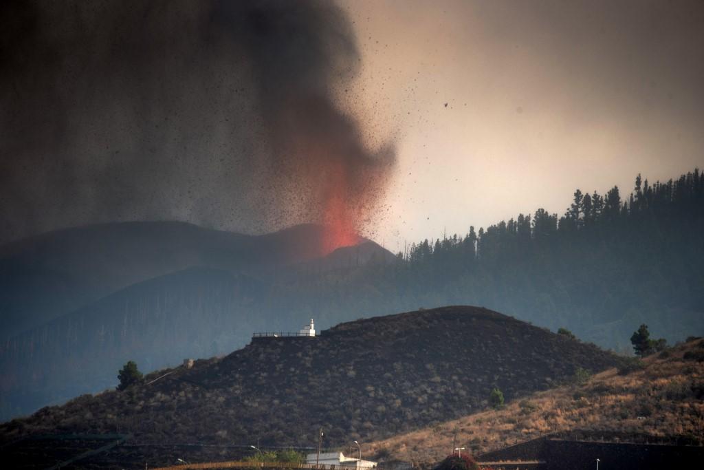 Volcán Cumbre Vieja, La Palma, Canarias, España. Foto: Desiree Martin | AFP