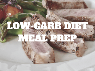 low carb diet meal prep