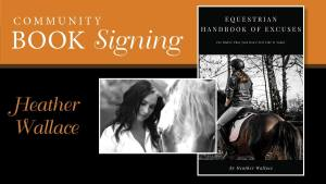Heather Wallace Book Signing