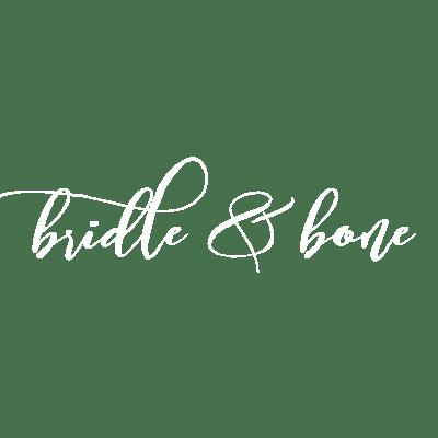 Bridle & Bone Logo White