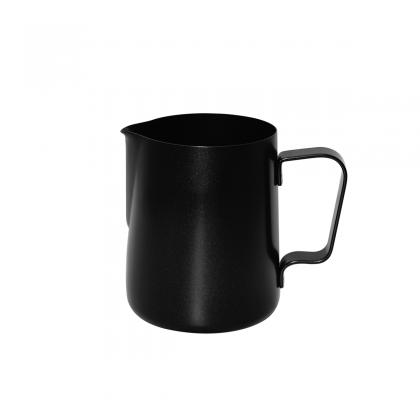 Jarra Latte Art Barista 350cc acero inox teflon negro