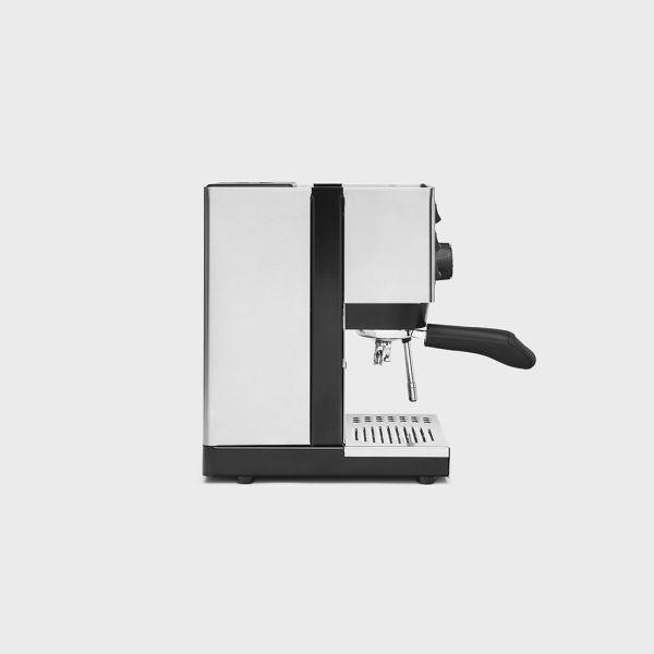 Máquina espresso home Rancilio Silvia Lateral