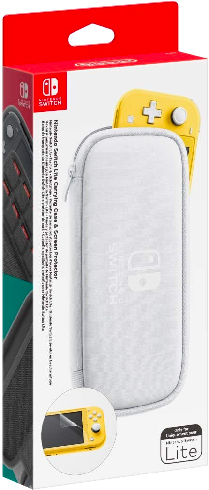 Custodia e Pellicola Protettiva per Nintendo Switch Lite