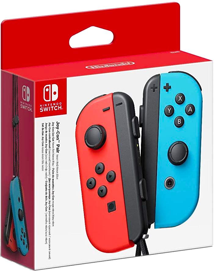 Set da due Joy-Con (Blu/Rosso Neon) per Nintendo Switch