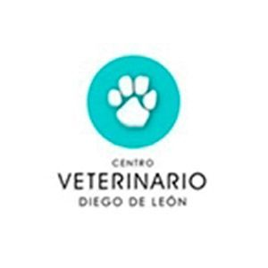 Logo del Centro Veterinario Diego de León