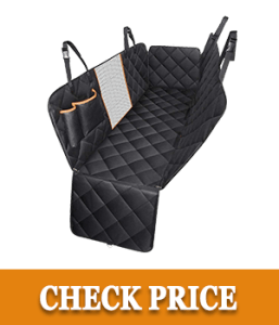 Mpow Dog Car Seat Covers with Mesh Visual Window