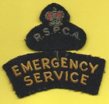 RSPCA emergency service badge