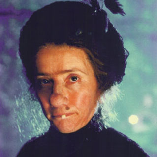 Boils, pustules and ageing prosthetic make-up on Emma Thompson as Nanny McPhee
