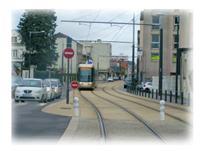 Tram ligne B - Quartier Madeleine