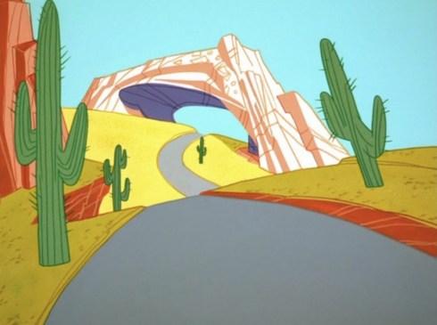 WB Road Runner Background