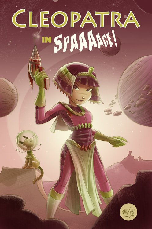Cleopatra in Space cover