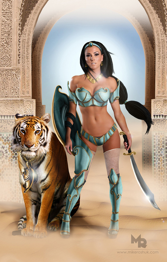 Disney Warrior Princess-3