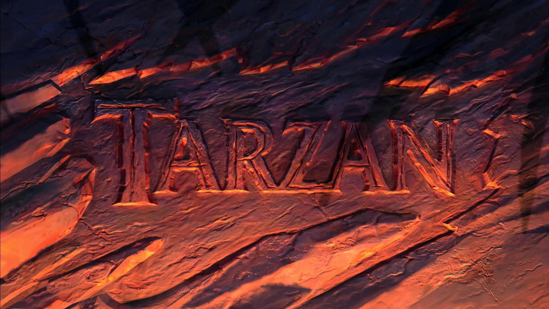 Tarzan 1999 Animation Screencaps