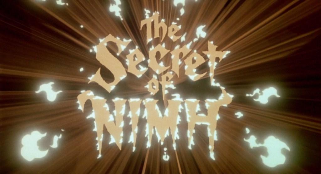 The Secret of NIMH (1982)