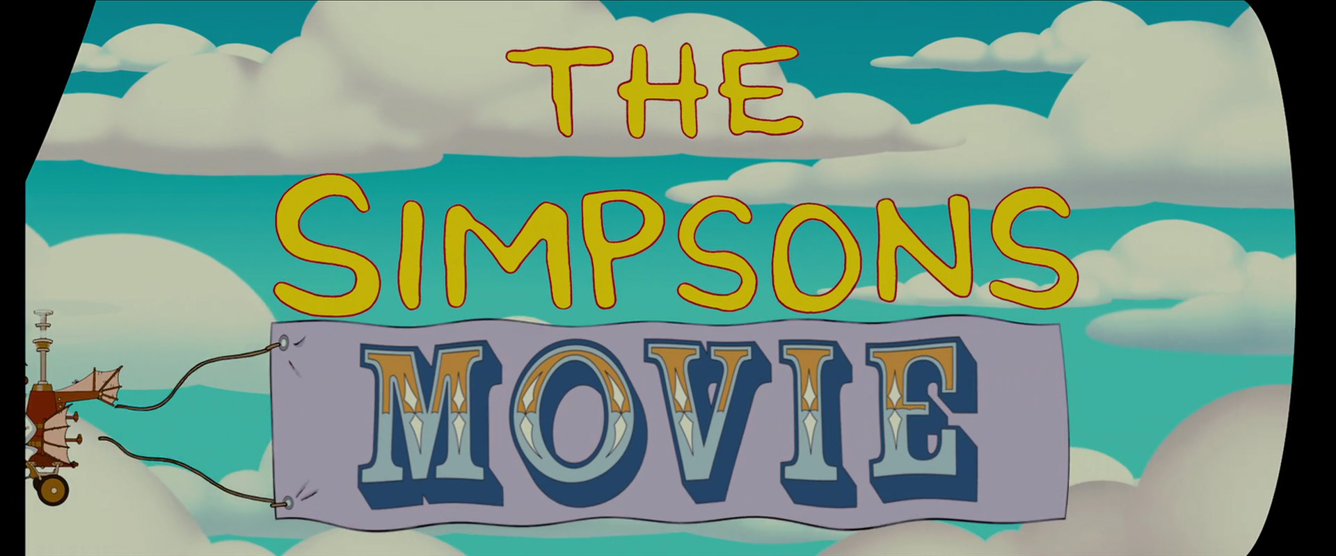 The Simpsons Movie 2007 Animation Screencaps