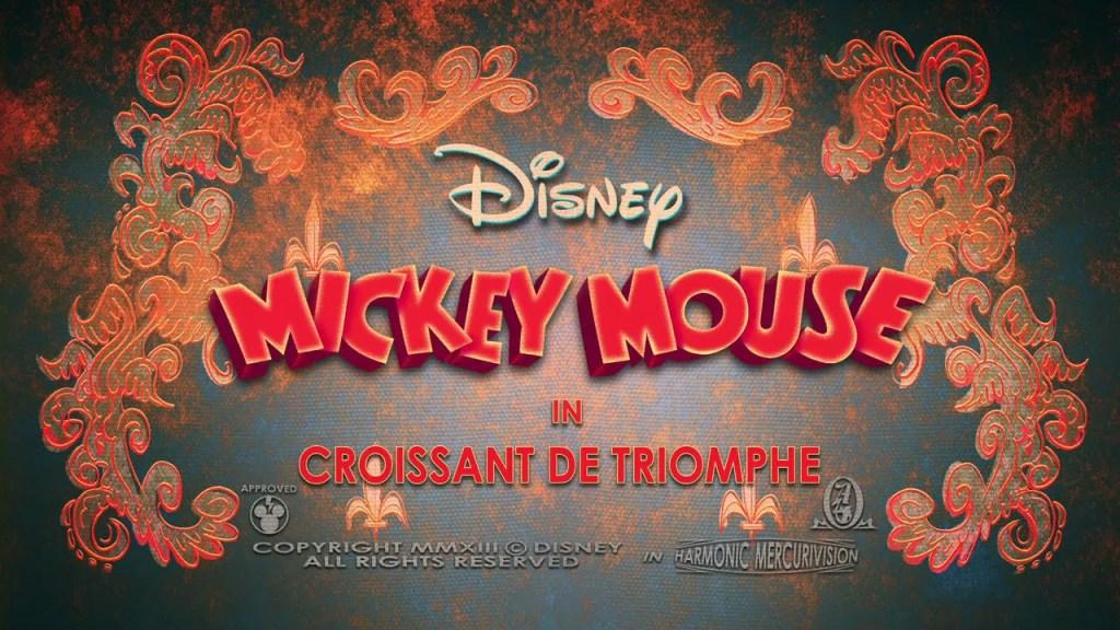 Mickey Mouse: Croissant de Triomphe