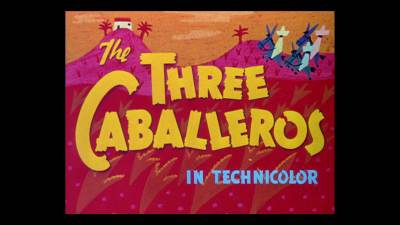 The Three Caballeros (1944) BluRay